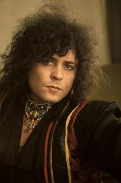 Mark Bolan. One of Glam rock's sexy men.