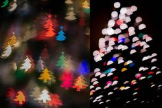 My attempts at Shaped Bokeh - Melanie Ritchie