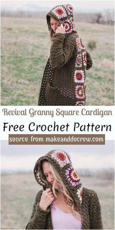 Crochet Stitches Free, Crochet Doily Patterns, Free Crochet, Knit Crochet, Crochet Ideas, Crochet Cardigan Pattern, Crochet Jacket, Crochet Shawls And Wraps, Beautiful Crochet