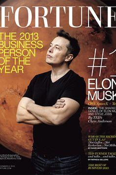 Tesla's Elon Musk is Fortune Businessperson of the Year - Speakeasy - WSJ