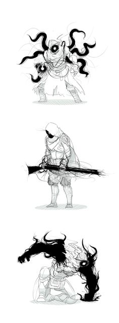 Fantasy Character Design, Character Design Inspiration, Character Concept, Character Art, Creature Concept Art, Weapon Concept Art, Creature Design, Monster Concept Art, Monster Art