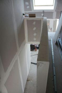 rambarde placo guest room ideas pinterest escaliers combles et am nagement. Black Bedroom Furniture Sets. Home Design Ideas