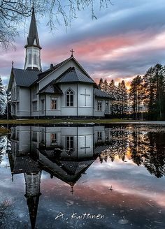 Viekijärvi Church in Lieksa, northern Carelia. Photo: A.Kuittinen