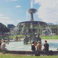 Summer in Stuttgart. Love it!