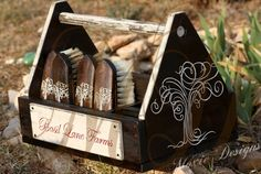 GORGEOUS!!!   Custom Grooming Tote and Brush Kit by MoxieDesignsATX on Etsy, $300.00
