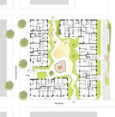 Grundriss EG, © KBNK Architekten GmbH