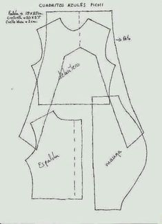 Patrones de ropa para muñeca Nancy - Aprendiendo con Julia