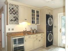 Charmant This Washer/dryer Combo Design Is For The Multi Functional Room Or Small  Apartment. Laundry In KitchenLaundry ...