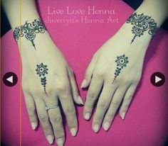 Beautiful, simple henna.