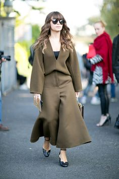 Pin for Later: The Best Street Style From All of Paris Fashion Week Paris Fashion Week, Day 6 Miroslava Duma.