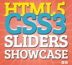 HTML5 and CSS3 Sliders Showcase