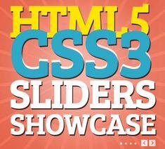 HTML5 and CSS3 Slider Showcase