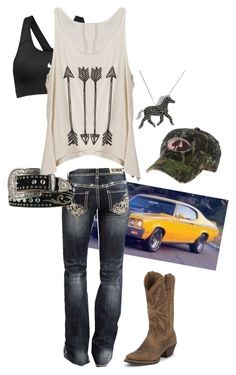 Designer Clothes, Shoes & Bags for Women Country Style Outfits, Southern Outfits, Country Girl Style, Country Dresses, Country Fashion, Camo Girl Outfits, Girl Camo, Outfits For Teens, Cool Outfits