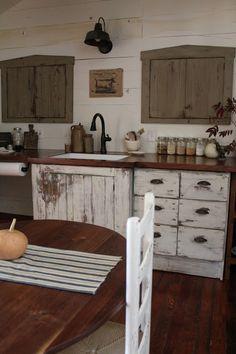a fine farmhouse redoing our Kitchen