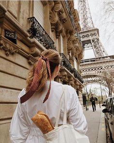 """Take me to Paris"", she said. ""You are Paris"", he replied. All Red Air Max, Parisienne Style, Little Paris, Travel Aesthetic, Aesthetic Vintage, South Of France, Paris Travel, Belle Photo, Parisian"