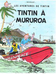 Les Aventures de Tintin - Album Imaginaire - Tintin à Mururoa