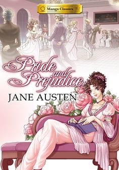 """A graphic novel"": Manga Classics Pride & Prejudice (2014) - Jane Austen and Stacy King.  I laughed out-loud several times while reading this; the adapted dialogue and illustrations were so funny.  The mangaka (very talented lady) described Darcy as ""the first tsundere character"", which made me chuckle too.  If you're a fan of manga and/or P&P, you should read this, and be amused."