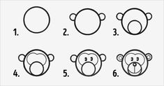 Ten Easy Ways To Help Your Children Draw - Ten Easy Ways To Help Your Children Draw simple and effortless drawing 4 Easy Drawings For Kids, Drawing For Kids, Art For Kids, Children Drawing, How To Make Drawing, Drawing Tips, Learn To Draw, How To Draw Hands, Drawing Notepad