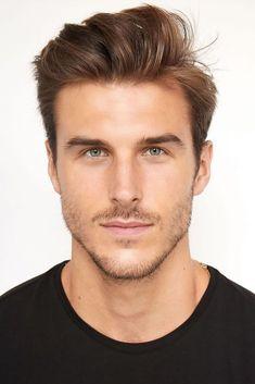 Face Shape Hairstyles Men, Oblong Face Hairstyles, Men's Hairstyles, Mens Hairstyles Fade, Oval Face Men, Oblong Face Shape, Mid Haircuts, Haircuts For Men, Oval Face Haircuts Men