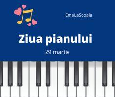 In fiecare an in data de 29 martie se sarbatoreste Ziua mondiala a pianului #worldpianoday. Pentru ca in ziua de luni avem ora de muzica, se potriveste foarte bine sa vorbim despre acest instrument muzical. Cu siguranta copiii se vor prinde in joc, am pregatit cateva activitati interesante si amuzante. Activitati pentru ziua pianului Iata cum am organizat eu ora. Mai jos sunt cateva repere. Din cate piese e alcatuit un pian? Am urmarit filmul AICI. Desene animate cu Tom si Jerry la pian –  Printable Worksheets, Teaching Resources, Film, School, Blog, Pray, Movie, Film Stock, Cinema
