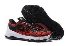 """sale retailer 4847b e8d4f Find KD 8 EXT """"Floral Finish"""" Black Black-Gym Red-Summit White 2016 Super  Deals online or in Pumarihanna. Shop Top Brands and the latest styles KD 8  EXT """" ..."""