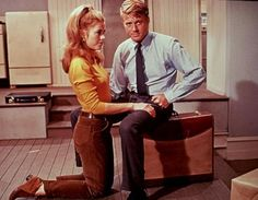 Jane Fonda and Robert Redford star in Barefoot in the Park (1967). Credit: Turner Classic Movies