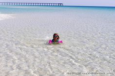crystal clear water, Navarre Beach, Florida Planning an Affordable Family Beach Vacation