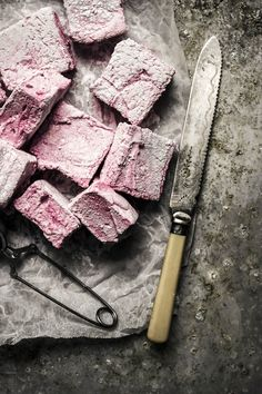 fresh strawberry marshmallows