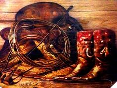 Rustic Texas Star Decor | Western Cabin Rustic Decor Boots Saddle