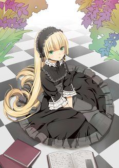 Victorique from Gosick - I love this anime and her dresses!