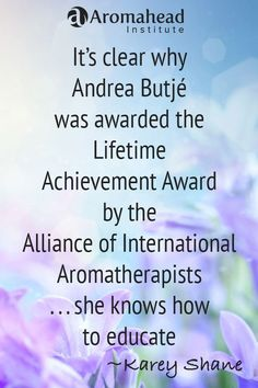 What I loved about Aromahead: I am amazed by how much personal attention and guidance I received from Andrea Butj, Cindy Black, and my case studies mentor while studying to become a Certified Aromatherapist at the Aromahead Institute.  The online course