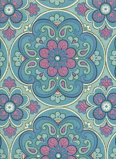 Wallpaper nr 1890b, interiör1900