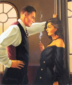 Jack Vettriano is a famous artist who was born in Scotland in 1953 to Italian parents. Description from pinterest.com. I searched for this on bing.com/images