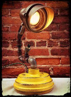 No. 67  Reclaimed Brass Spot Light !