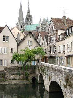 Chartres, France.