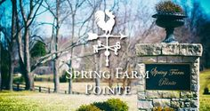 Beautiful lots for sale in Spring Farm Pointe - Prospect, Kentucky
