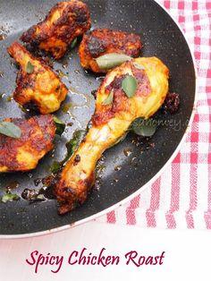 Cooking Is Easy: Nadan Chicken Roast (Kerala Style)