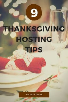 For some, Thanksgiving is about eating turkey and taking a nap after indulging in pumpkin pie. For the host of the holiday, it's about planning, preparation, and trying not to stress out too much. If you're hosting your family and friends this year for turkey day, make sure you start getting ready a few weeks in advance. With early planning and plenty of prep, you'll be surprised how seamless the day turns out. Get more helpful tips on hosting the Thanksgiving meal from this handy eBay guide...