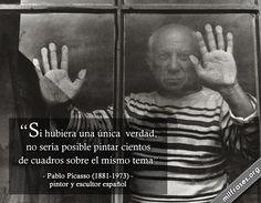 Pablo Picasso, pintor y escultor español