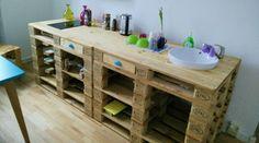 Die 21 besten Bilder von Küche aus Paletten | Home decor, Home ...
