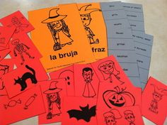 HALLOWEEN RESOURCES FOR SPANISH LEARNERS - Use at HOME or for your CLASS  http://www.spanish-for-you.net/blog/halloween-resources-for-spanish-learners