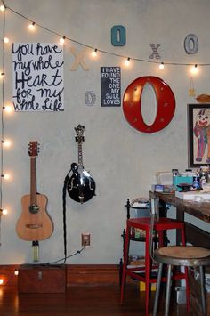 My x's and o's wall- Chasity Heck