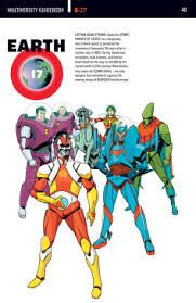 Earth 17, DC Comics, robotics, armor, artificial powers, Multiverse, anime, mecha