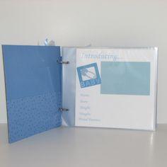 babys first year scrapbook