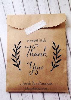 Wedding Favor Bags Candy Buffet Bags Candy Bar by DetailsonDemand (personalized wedding cookies) Wedding Favor Bags, Wedding Favors For Guests, Personalized Wedding Favors, Unique Wedding Favors, Wedding Gifts, Candy Bar Wedding, Cookie Wedding Favors, Cookie Favors, Elegant Wedding