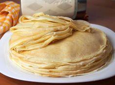 Nales'niki - Najlepszy Przepis ( z Olejem w Cies'cie) Cooking Time, Cooking Recipes, Polish Recipes, Dough Recipe, Pancakes, Breakfast Recipes, Food Porn, Good Food, Food And Drink