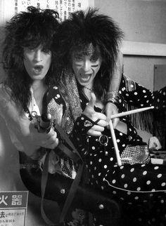 Mötley Crüe in the '80's