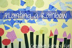 Planting a Rainbow - Virtual Book Club ~ Creative Family Fun