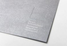 The Best of BP&O – Blind Embossing: Logo and print with deboss detail designed by Neue for Oslo-based Norwegian Shipowners' Association