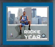 Karl Anthony Towns 2015-2016 Rookie of the Year - 11x14 Matted/Framed Photo